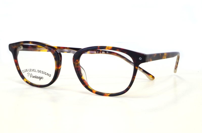 Retro eyeglass frame style from Club Level Design